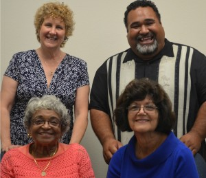 photo of four community liaison committee members