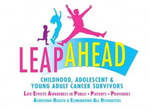 logo for Leap Ahead website