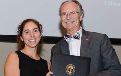 Mariangel Garcia Received the Dean's Award at the Student Research Symposium