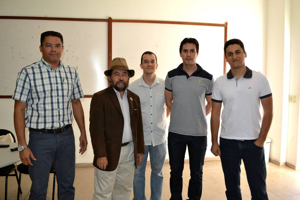 Dr. Jose Castillo lectures at Federal University of Mato Grosso, Brazil