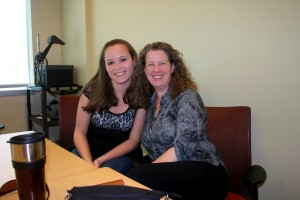 Photo of Anna-Michelle McSorley and mentor