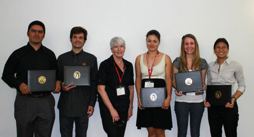 NIH MBRS Scholars Recognized at the 2012 Student Research Symposium for Outstanding Undergraduate Research