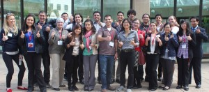 Group photo of IMSD and MARC students